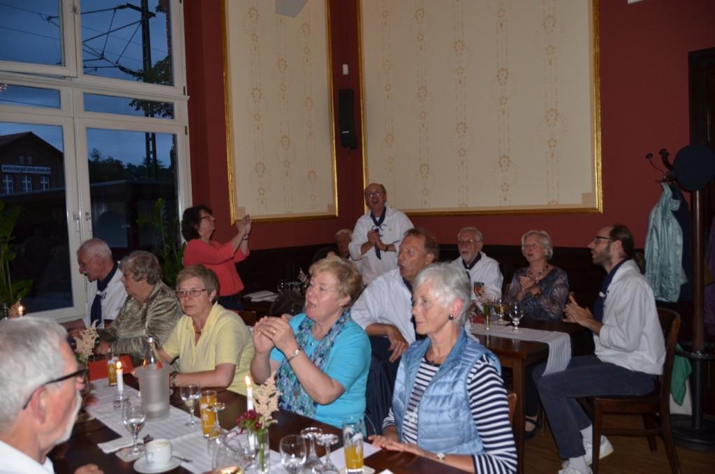 18. Juni 2016: Gemütliches Zusammensein der Shanty-Familie im Lukas Essen-Kupferdreh